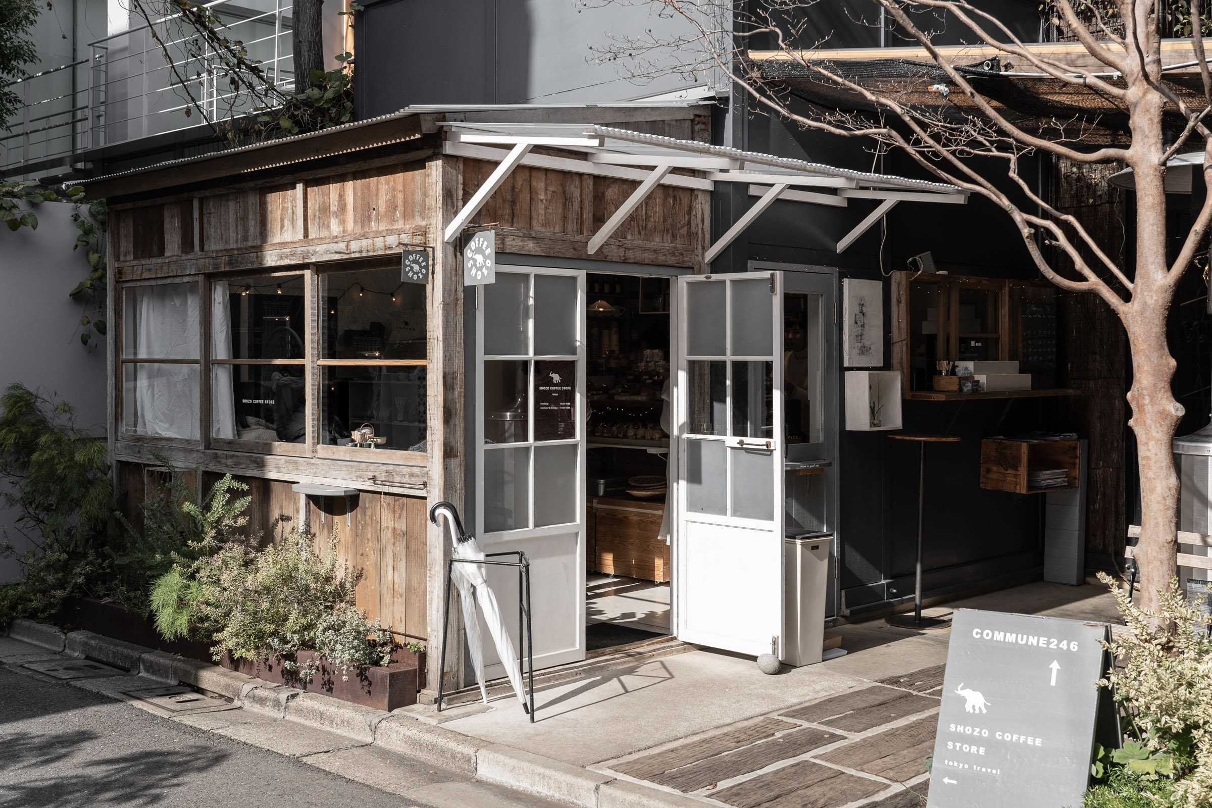 Shozo Coffee Store Cafes In Tokyo — Tokyo Coffee Shop Guide — Softer Volumes