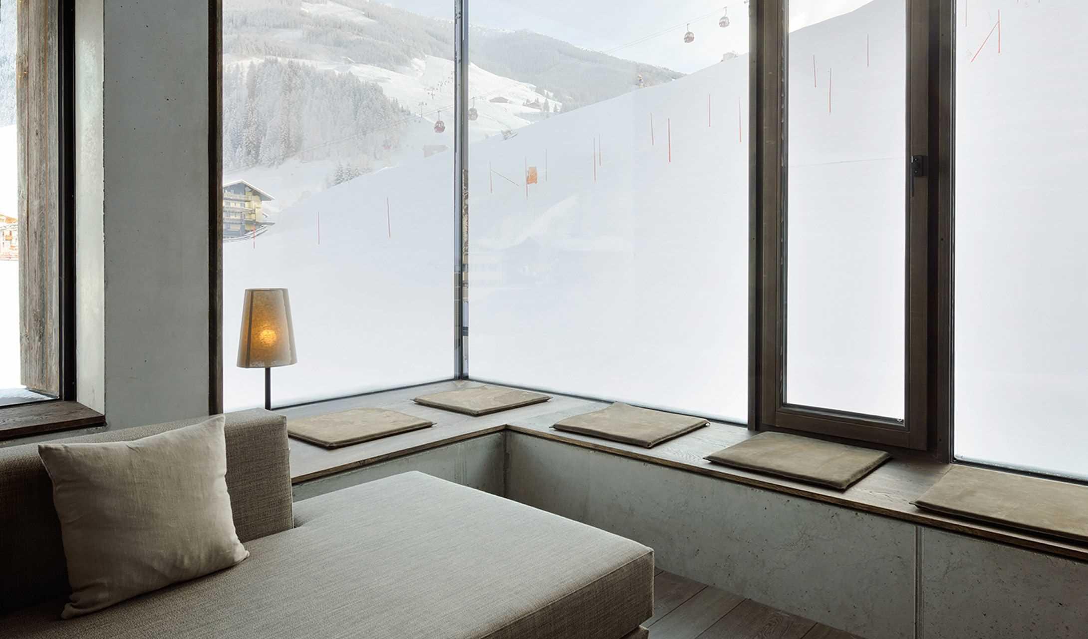 Wiesergut Modern Luxury Design hotel Hinterglemm Austria Alps