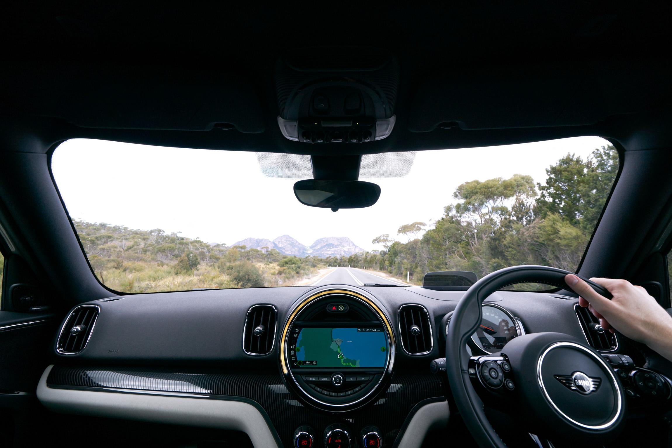 Mini Countryman Hybrid Interior