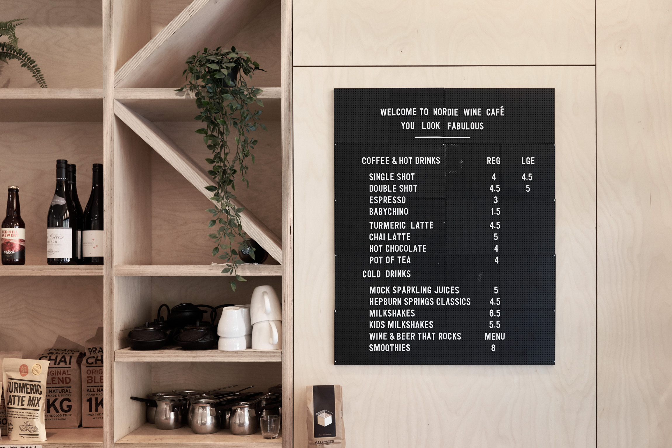 Nordie Café Red Hill Cafe Mornington Peninsula