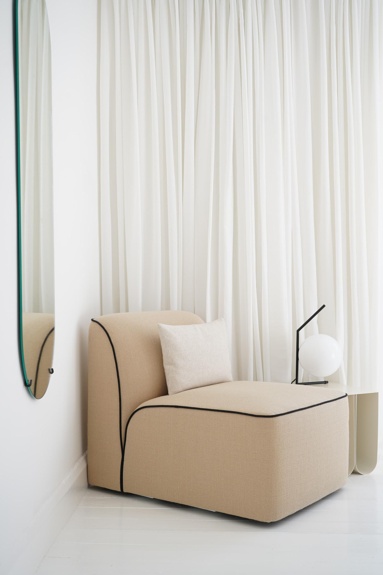 Hali Mason Home Tour — WOUD Flora Modular Sofa
