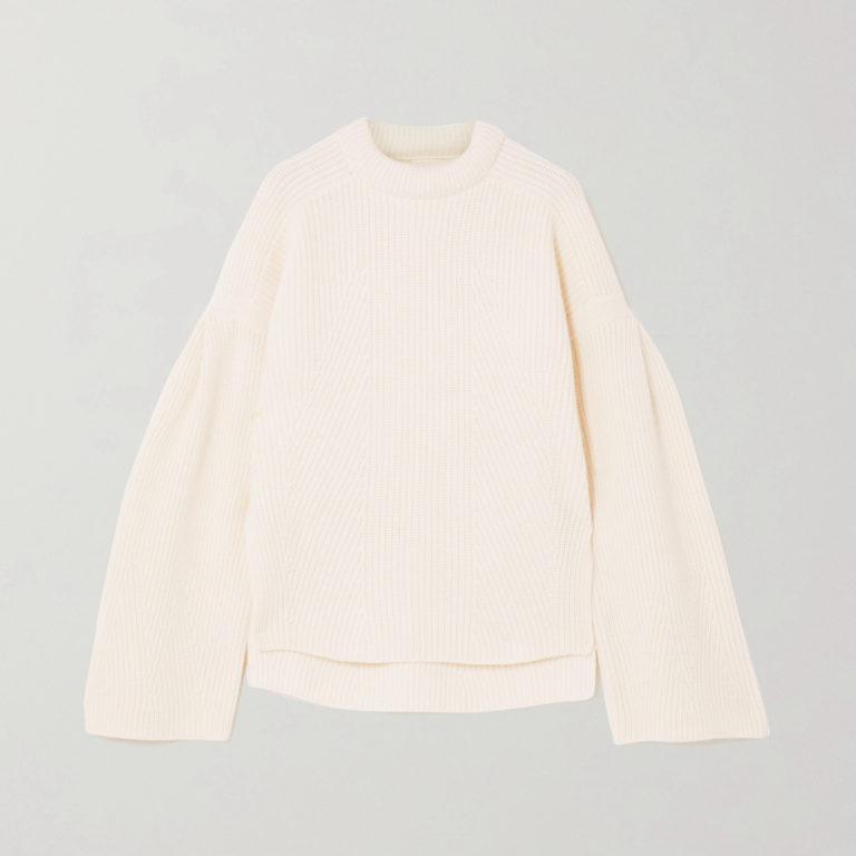 LouLoulou Studio Gargalo Oversized Cashmere Blend Sweater