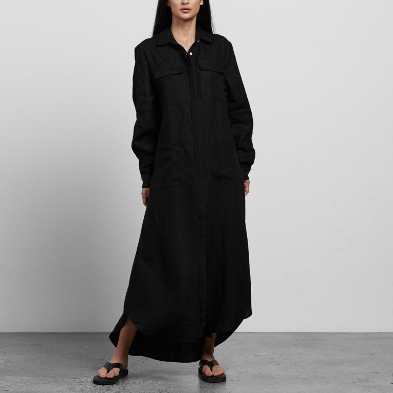 Matin Linen Shirt Dress
