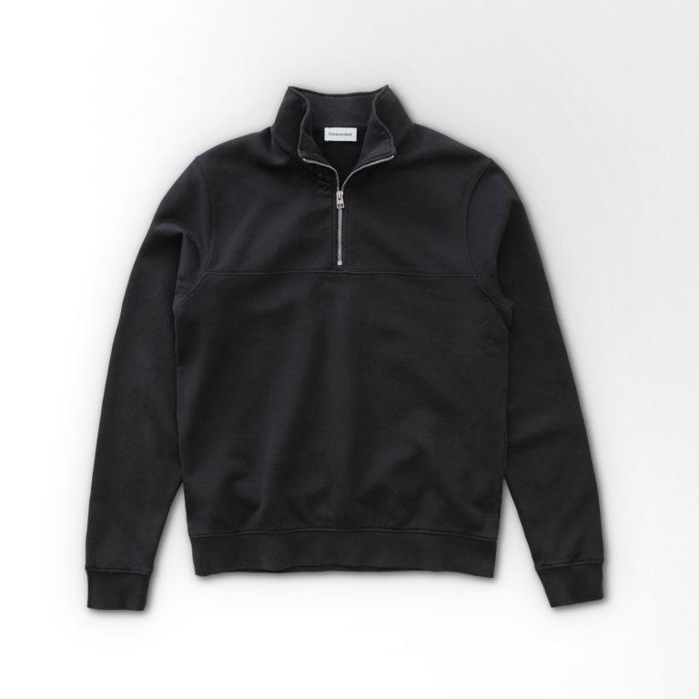 Unrecorded Half-Zip Sweater