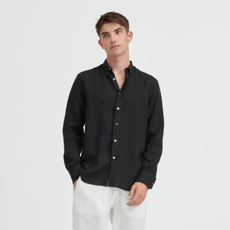 VENROY Linen Shirt
