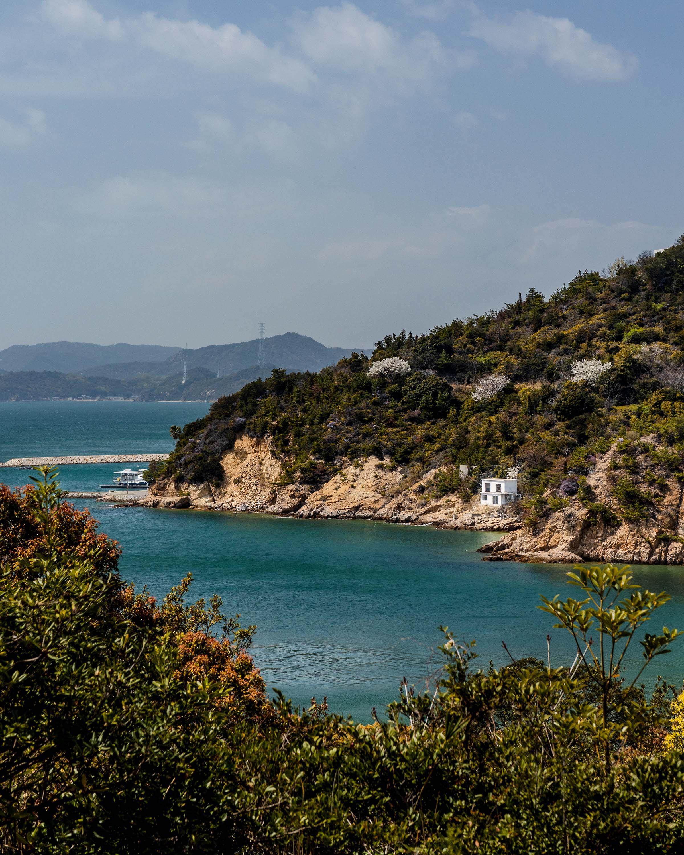 Coastal views from Naoshima Island