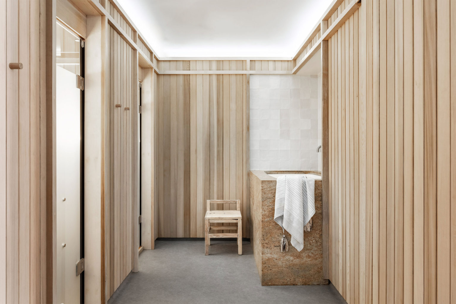 SHELTER wellness centre in Sydney | Gym and spa design | Softer Volumes