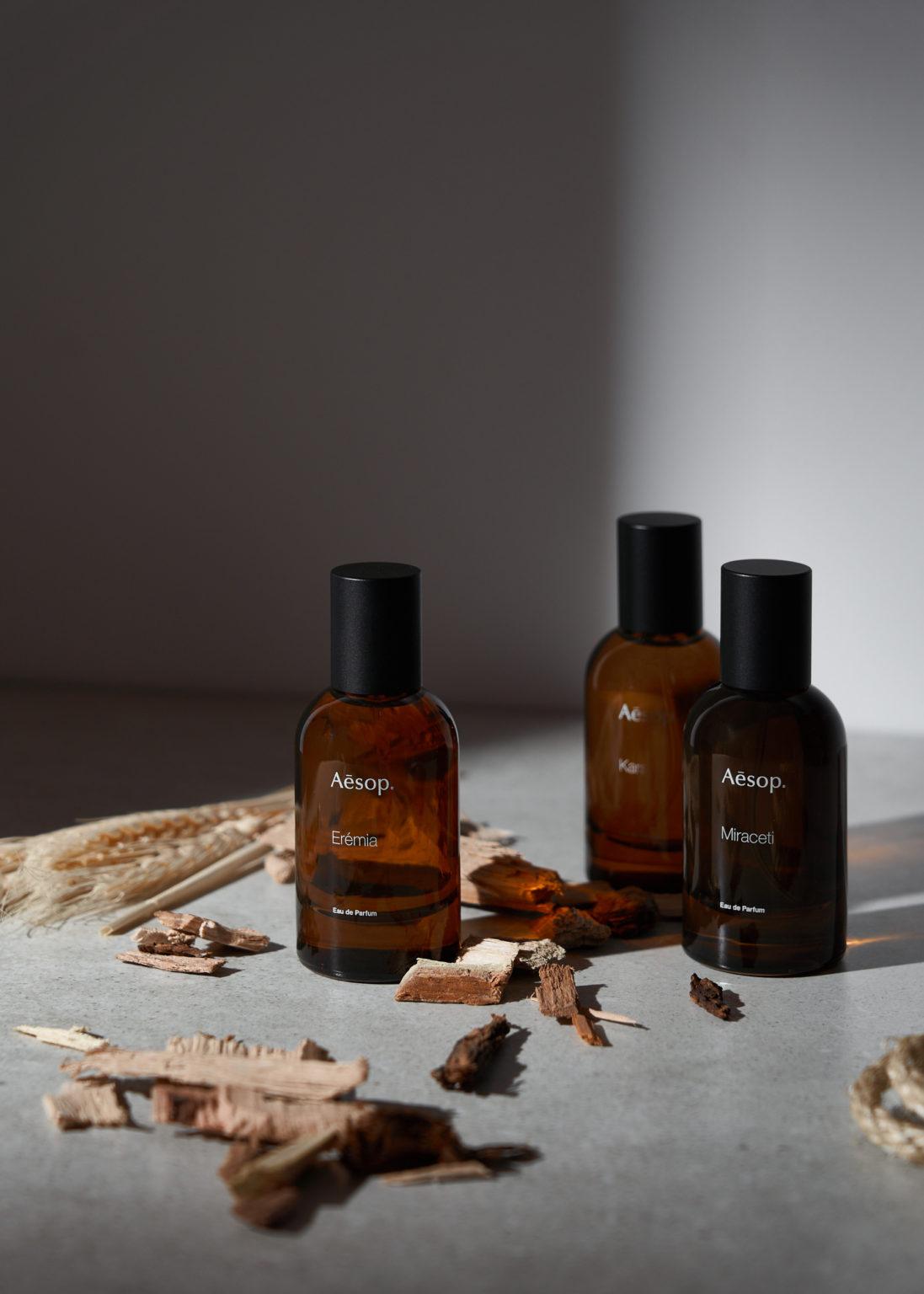 New Aesop Fragrances