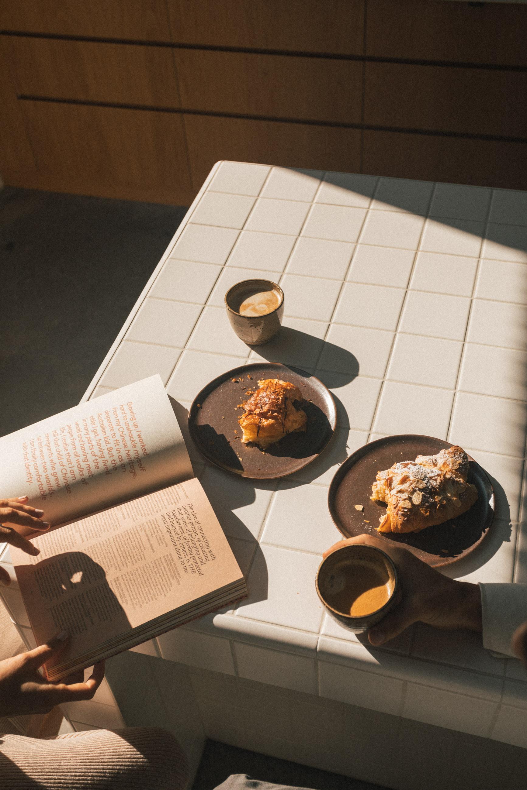 Allpress Capsule Coffee with breakfast
