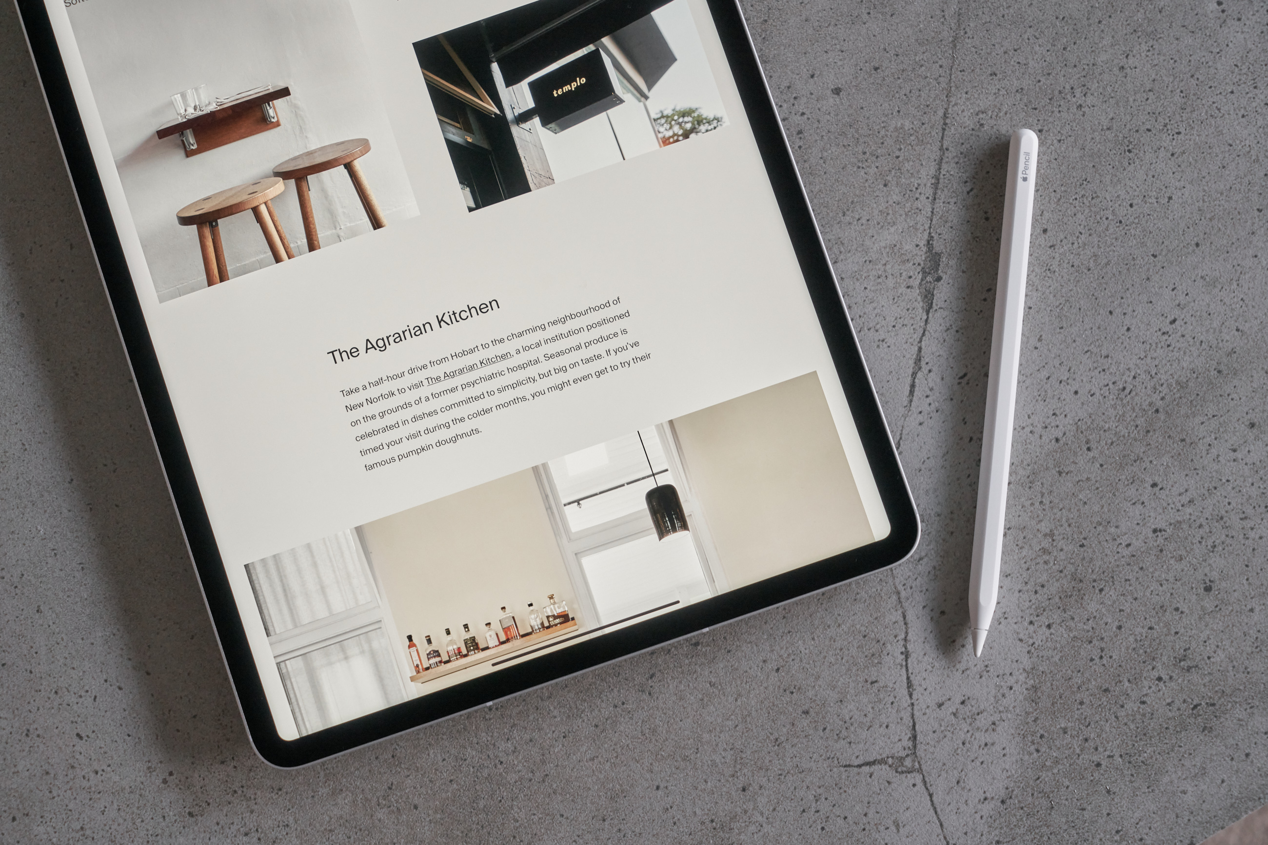 """The Art of Travel Planning — A seamless experience with the 12.9"""" iPad Pro 