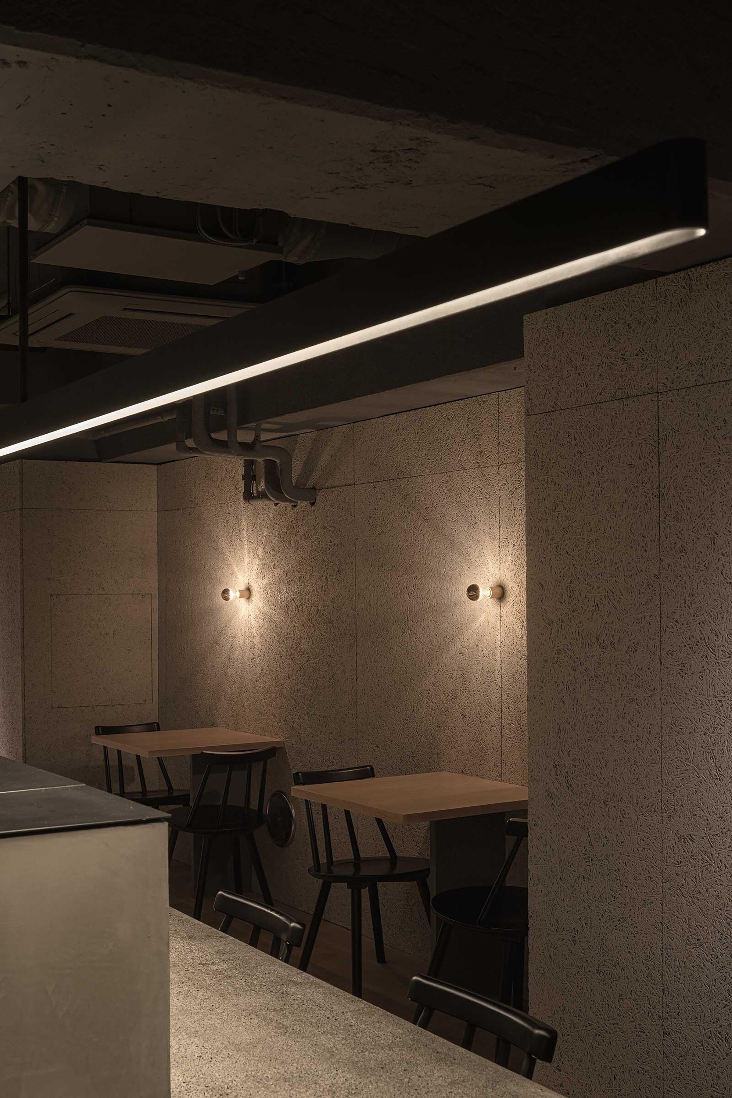 Grillno Restaurant | Designed by Keiji Ashizawa | Softer Volumes