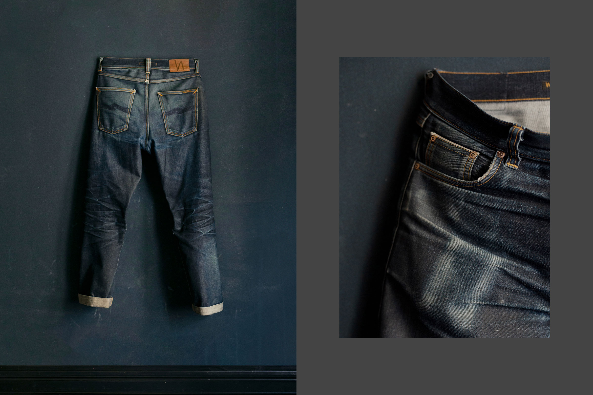 Nudie Jeans Co - When to wash denim