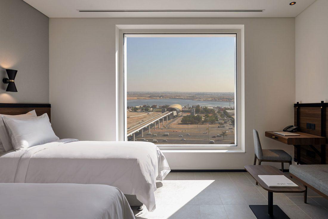 Form Hotel Dubai Modern Design Hotel UAE — Softer Volumes