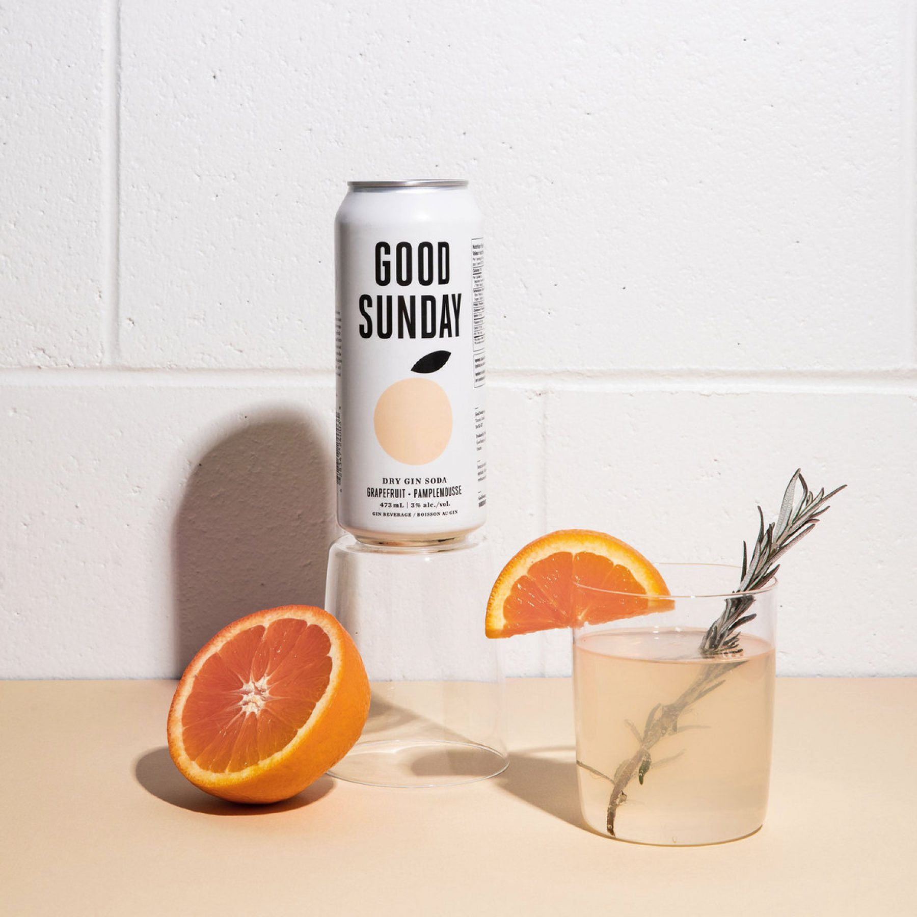 Good Sunday Grapefruit Gin Soda