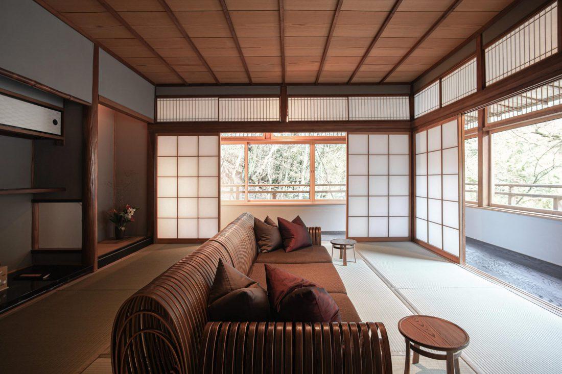 Hoshinoya Kyoto — Modern Luxury Design Hotel Resort Kyoto Arashiyama — Softer Volumes