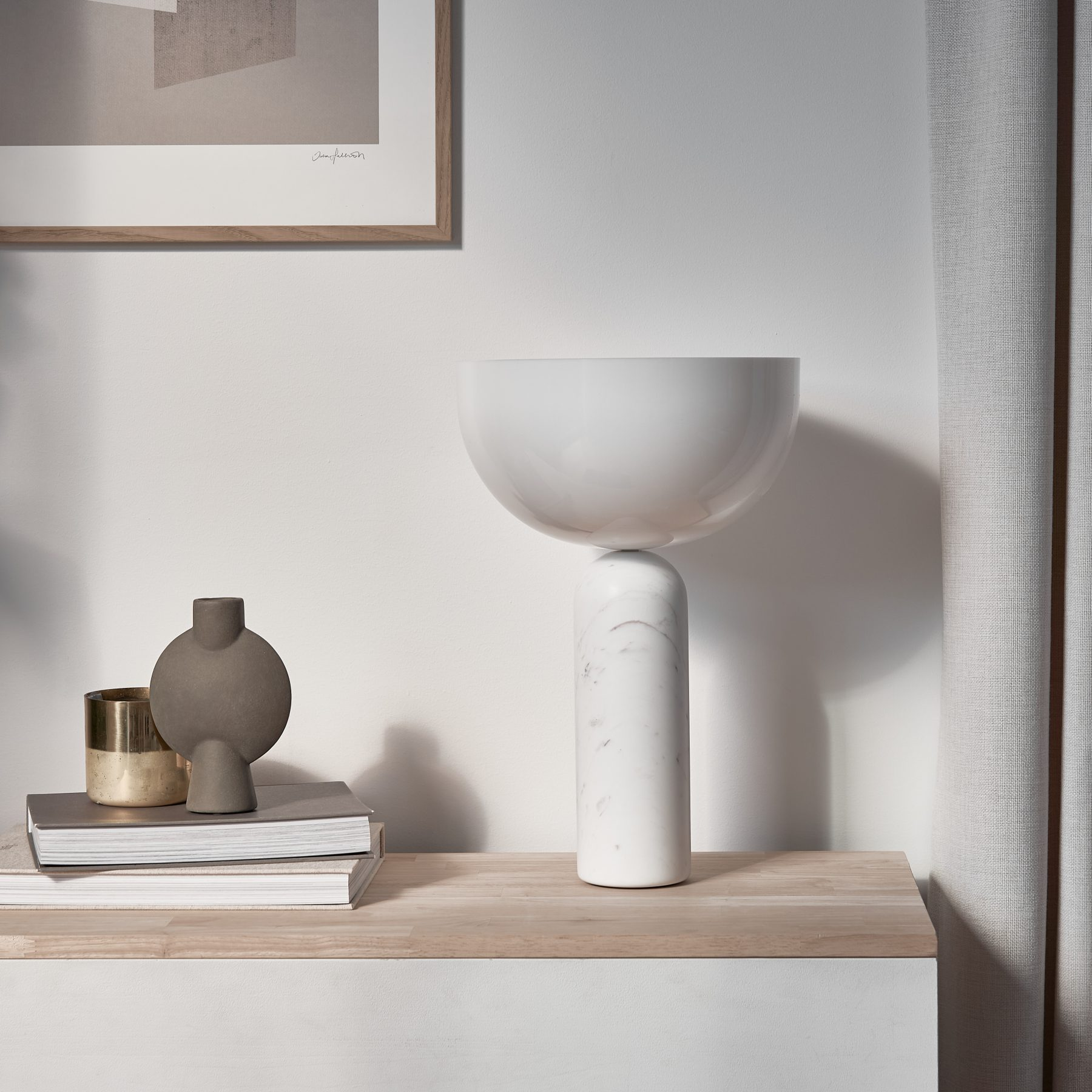 New Works Kizu Table Lamp from District Australia — Softer Volumes