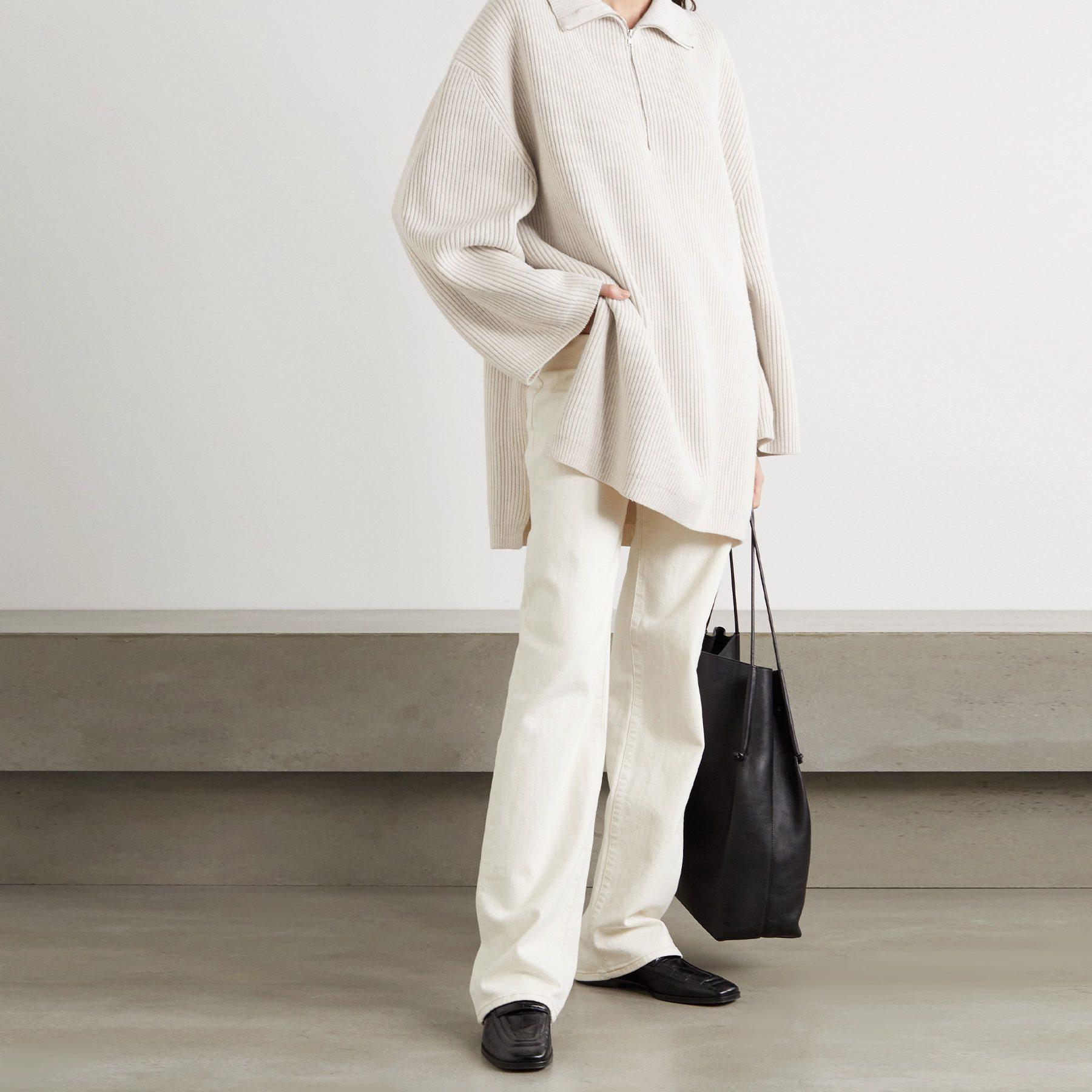 Totême Tomar ribbed wool-blend sweater